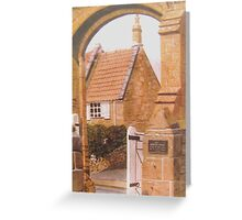 Priory Arch, Stoke-sub-Hamdon Greeting Card