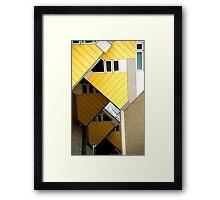 Rotterdam Cube Houses Framed Print