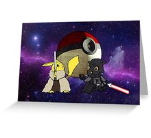 Star Wars - The Return of the Pokemon Greeting Card