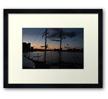 Clan: Harbour Framed Print