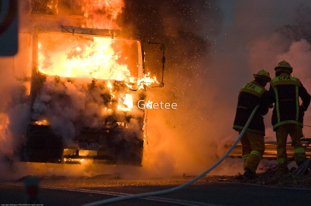 Ablaze by gary A. trounson