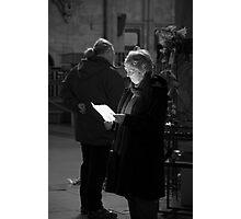 Religious Reading Photographic Print