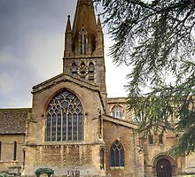St Mary's Church, Witney, Oxfordshire by Karen Martin