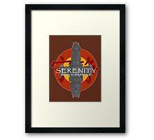SERENITY - CLASS: 03-K64-FIREFLY Framed Print