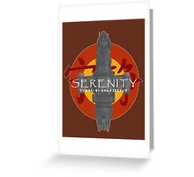 SERENITY - CLASS: 03-K64-FIREFLY Greeting Card