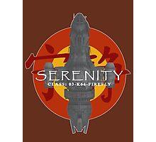 SERENITY - CLASS: 03-K64-FIREFLY Photographic Print