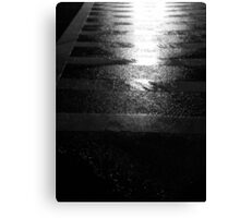 Reflected Crosswalk Canvas Print