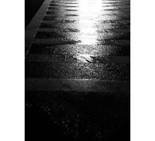 Reflected Crosswalk Photographic Print