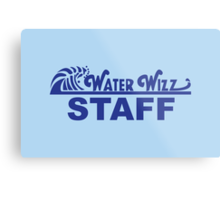 Water Wizz - STAFF Metal Print