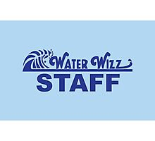 Water Wizz - STAFF Photographic Print