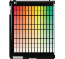Color Chart Grid iPad Case/Skin