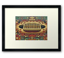 Amazing Game Board Framed Print