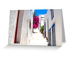Bougainvillea Passage Greeting Card