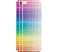 Color Chart Grid iPhone Case/Skin