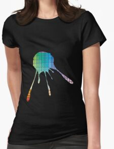 Color Chart Splat Womens Fitted T-Shirt