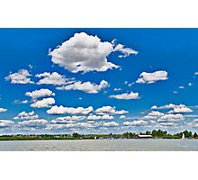 A day at the lake Photographic Print