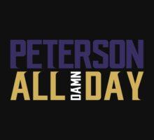 Adrian Peterson - ALL DAMN DAY! T-Shirt