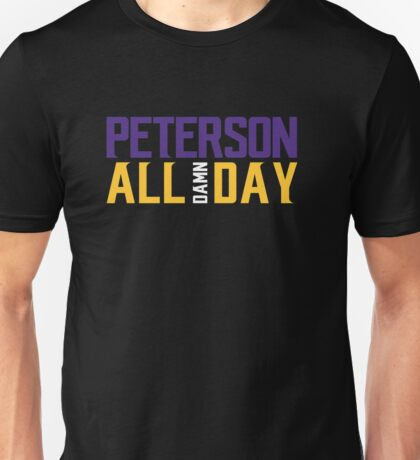 Adrian Peterson - ALL DAMN DAY! Unisex T-Shirt