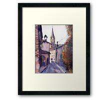 Aiguillion. Ruelle. France Framed Print
