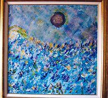 SPATIAL BLUE BY MARIAH RODRIGUEZ by amaranta