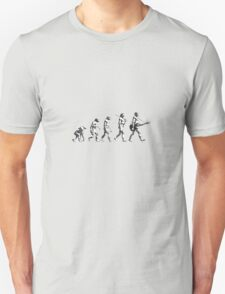evolution of rock Unisex T-Shirt