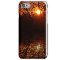 Christmas Morning Sunrise in East Texas iPhone Case/Skin
