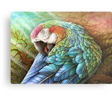 Rainbow Polly Metal Print
