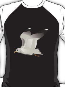 Flying seagull 2 T-Shirt