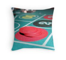 Place your Bets Throw Pillow