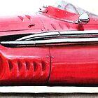 1955 Maserati 250F  2460  250bhp by PaulReddyoff