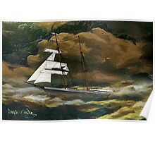 Mary Celeste 1872 - all products bar duvet Poster