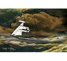 Mary Celeste 1872 design Photographic Print