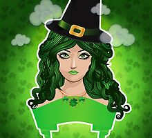 Leprechaun lady by AnnArtshock