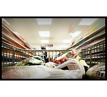 Shopping Photographic Print