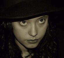40's Girl in Sepia 2 by dyanera