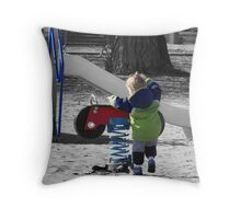Early Days Throw Pillow
