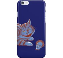 Schroedinger's hairball iPhone Case/Skin