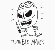 Trouble Maker Skeleton with knife by DiabolickalPLAN
