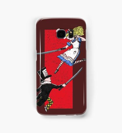 Alice vs. The Mad Hatter Samsung Galaxy Case/Skin