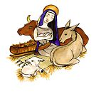 Christmas Series 05 Nativity by Dani Louise Sharlot