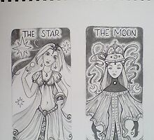Star & Moon by Dani Louise Sharlot
