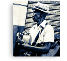 Havana Blues Canvas Print