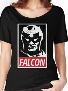 Captain Falcon: Obey Parody Women's Relaxed Fit T-Shirt