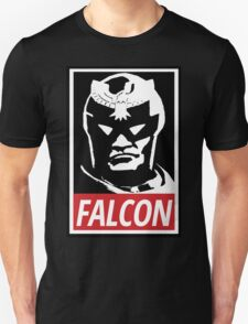 Captain Falcon: Obey Parody T-Shirt