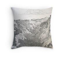 Yosemite Valley, Yosemite National Park, California Throw Pillow