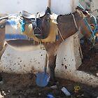 Blue Shovel Donkey by Galen  Stone