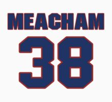 National baseball player Rusty Meacham jersey 38 by imsport