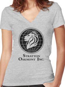 Stratton Oakmont Inc. Women's Fitted V-Neck T-Shirt