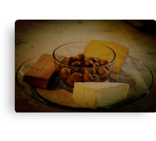 ...and liver pate Canvas Print