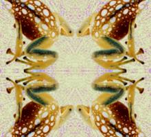 Solarized Poison Dart Frogs Sticker